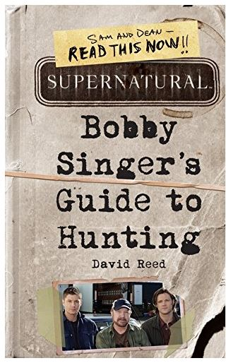 This Supernatural book will totally teach you all about hunting!