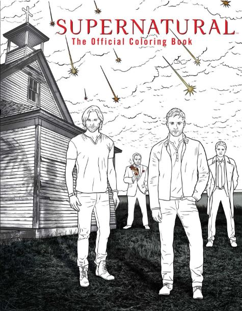 This Supernatural coloring book is the perfect way to relieve stress with your favorite characters!