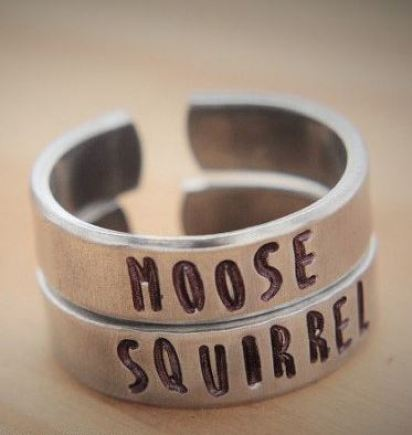 These rings are perfect for you and your friend if you both love Supernatural.