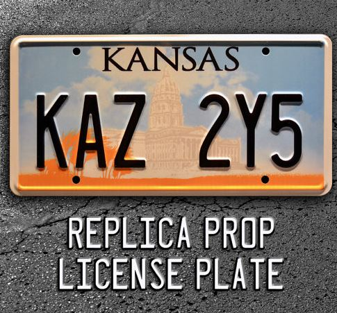 This prop license plate will make you feel like you're right in Supernatural.