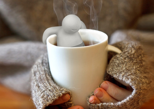 Using a tea infuser can totally help you get warm and healthy!