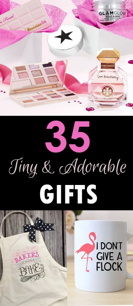 35 tiny and adorable gifts