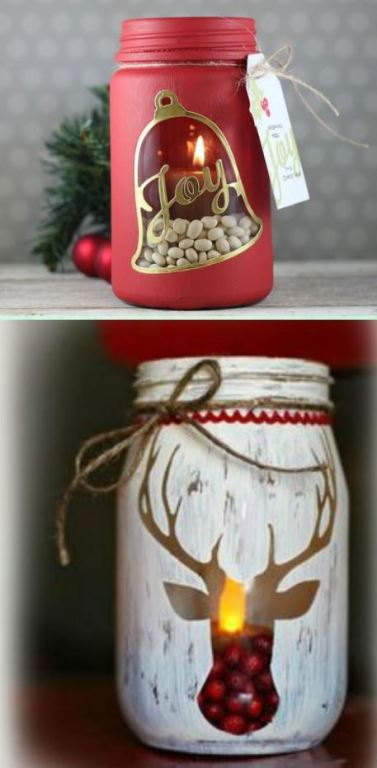 these DIY mason jars make such cute gifts!