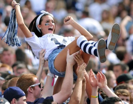 Penn State has the best game days!