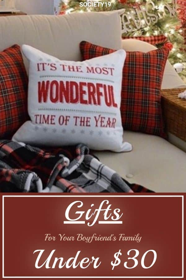 Gifts For Your Boyfriend S Family Under 30 Society19
