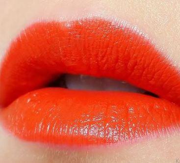 I love this orange dream color by ELF