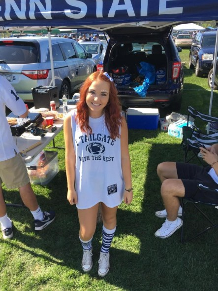 gameday outfits at Penn State