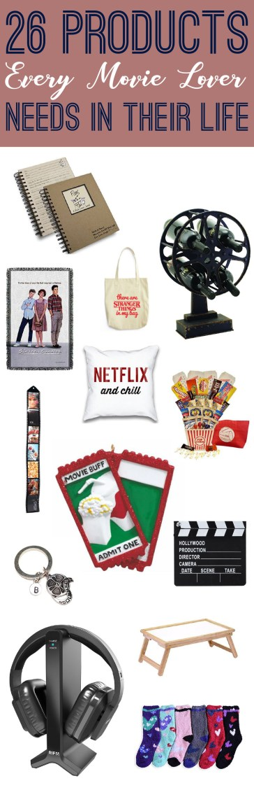 These gifts for movie lovers are so cute!
