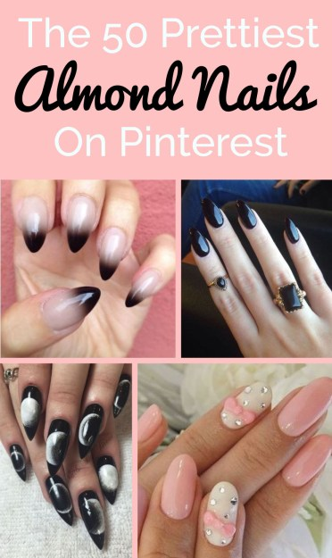 Here are the prettiest almond nails on pinterest!