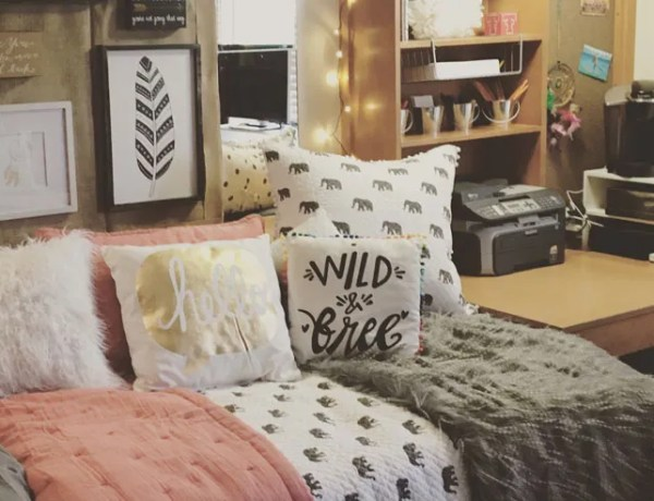 Cute dorm room ideas that you need to copy! These cool dorm room ideas are perfect for decorating your college dorm. You will have the best dorm on campus!