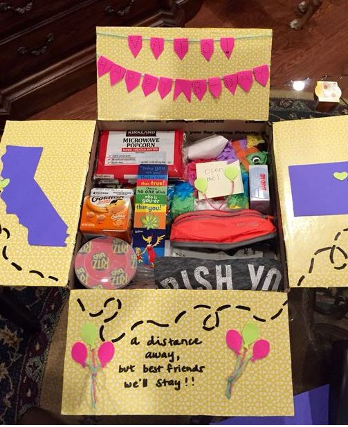 Do Any Of Your Friends Have Birthdays Coming Up Share These Awesome Birthday Care Packages To Help Them Get In The Spirit