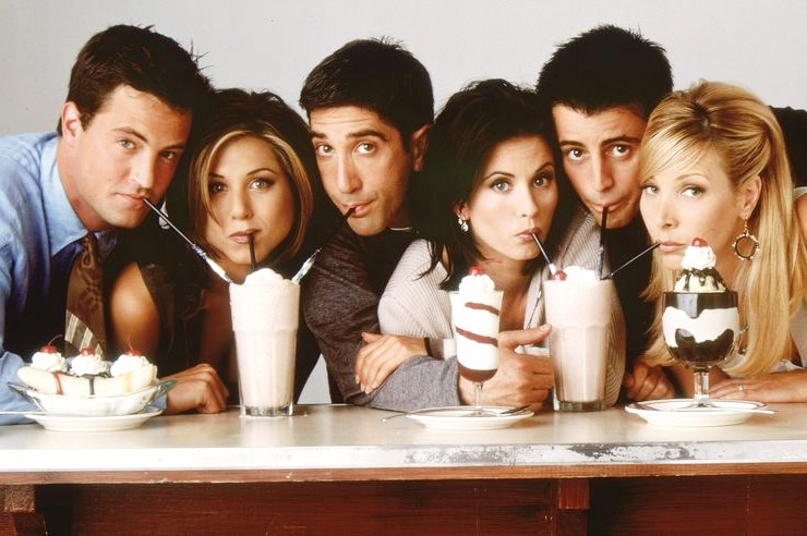 Things for people who absolutely love the tv show Friends! Funny Friends quotes, mugs, and clothing for any Friends show fan!