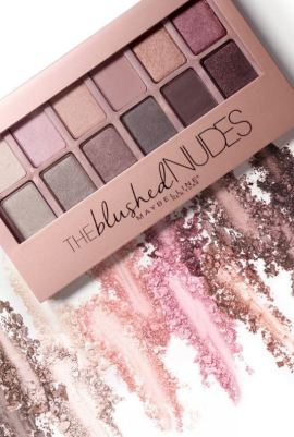the blushed nudes palette by Maybelline Cosmetics is amazing!