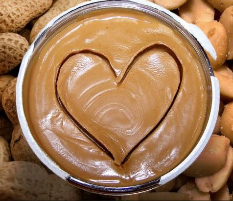 Peanut butter is so yummy!