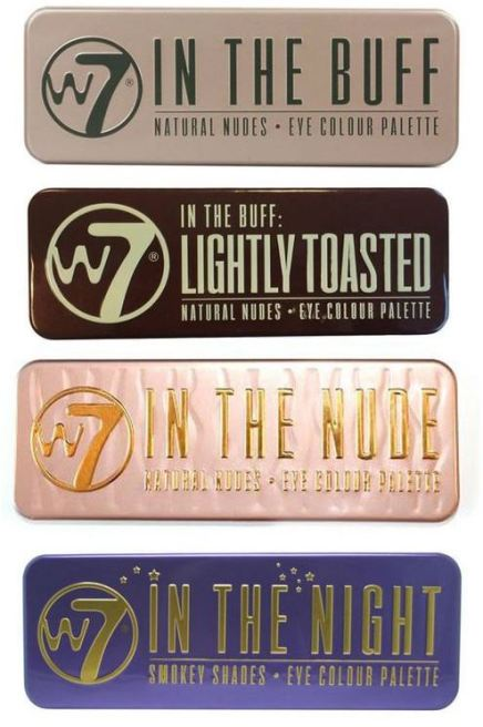 These eyeshadow palettes by W7 Cosmetics are great!