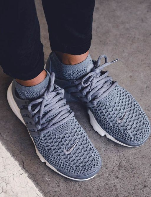 I love these grey Nike sneakers!