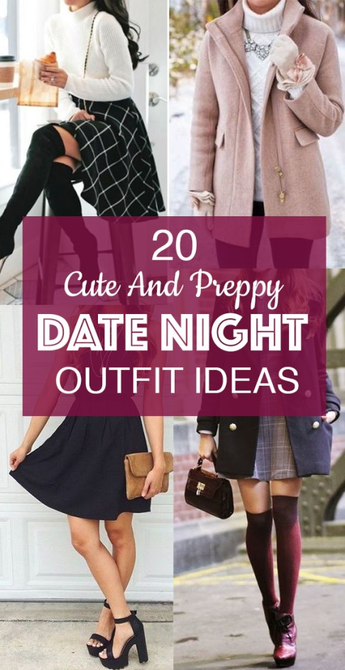 These are the best cute and preppy date night ideas!