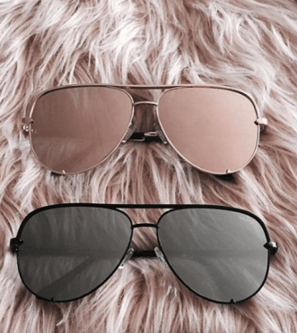 Quay Australia has great cheap sunglasses!