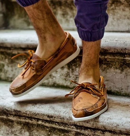 These boat shoes are so stylish and are good guys shoes!