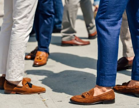 These loafers are so stylish and are good guys shoes!
