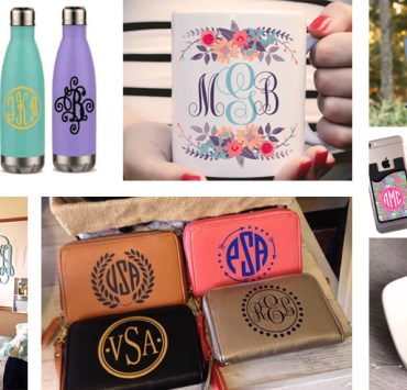 20 Monogrammed Things You Need From Etsy