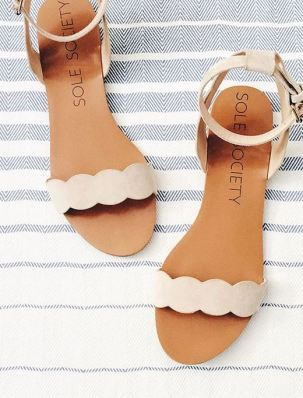 Cute sandals for sorority recruitment!