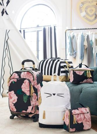 pack for spring break in a carry on with one of these super cute suitcases!