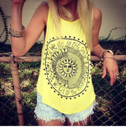 Cute tank tops are things you'll definitely need for the spring semester!