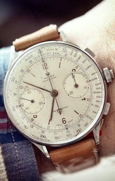 A nice watch can say a lot about a person!