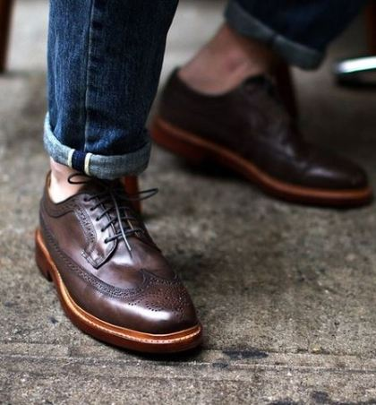 These wingtips are so stylish and are good guys shoes!