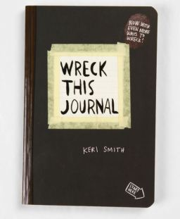 Wreck this Journal is a different way to write and is one of the best journals you can buy on Amazon