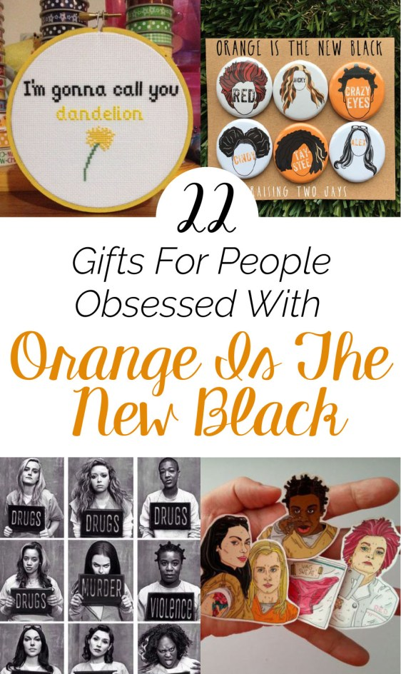 Obsessed with Orange Is The New Black? Here are some gift ideas!