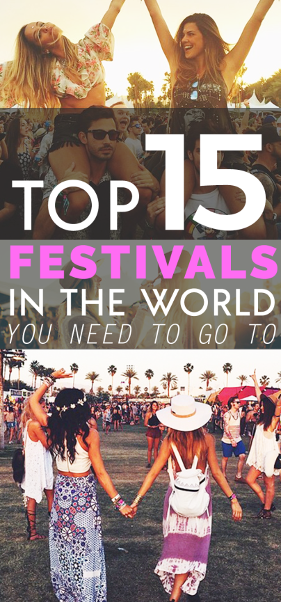 15 Best Festivals in the world