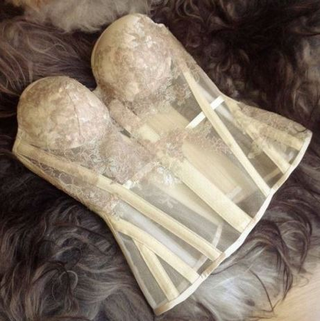 This gorgeous bustier is the perfect sexy lingerie piece!