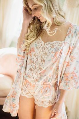 This lace romper is the perfect sexy lingerie piece!