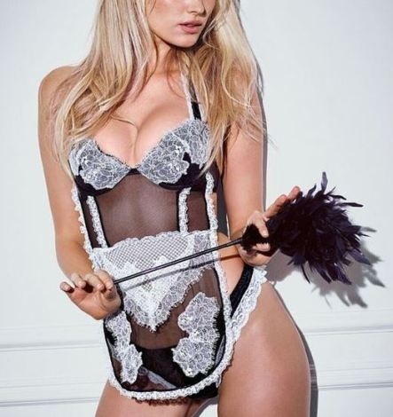 This lingerie costume is the perfect sexy lingerie piece!