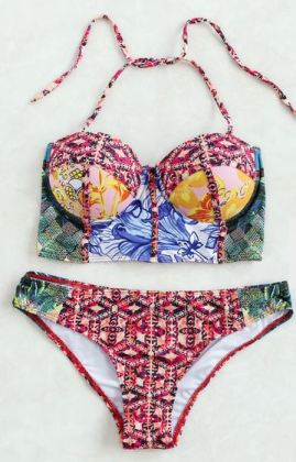 Bralette styled tops are super sexy bikinis for the summer!