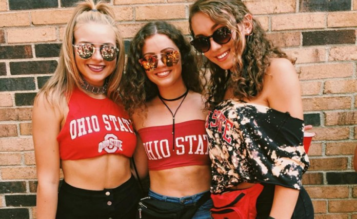 10 Adorable Gameday Outfits At Ohio State University - Society19 2e2fc4b5e