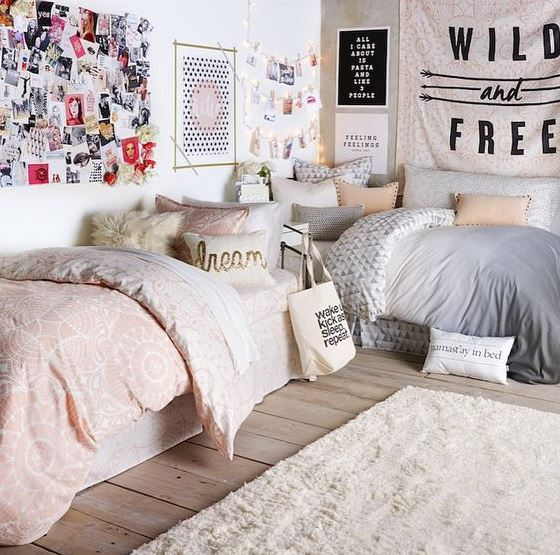 Simple ways to decorate your dorm room on a budget!