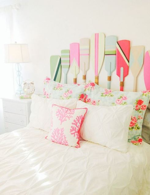 Nautical theme is perfect for preppy dorm rooms!