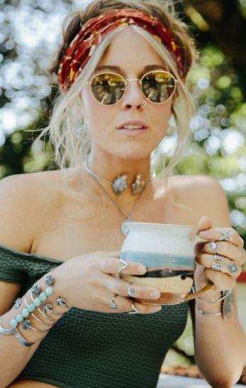 Statement accessories are perfect for festival outfits!