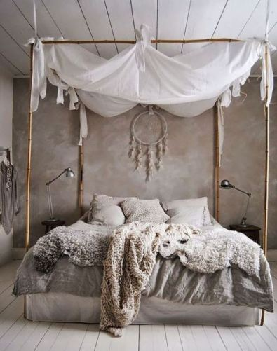 The best inspiration for boho dorm rooms!