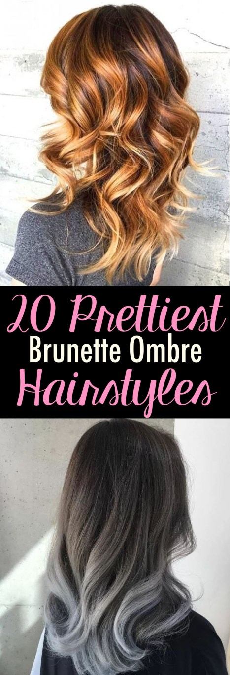 These are the prettiest brunette ombre styles you need to try!