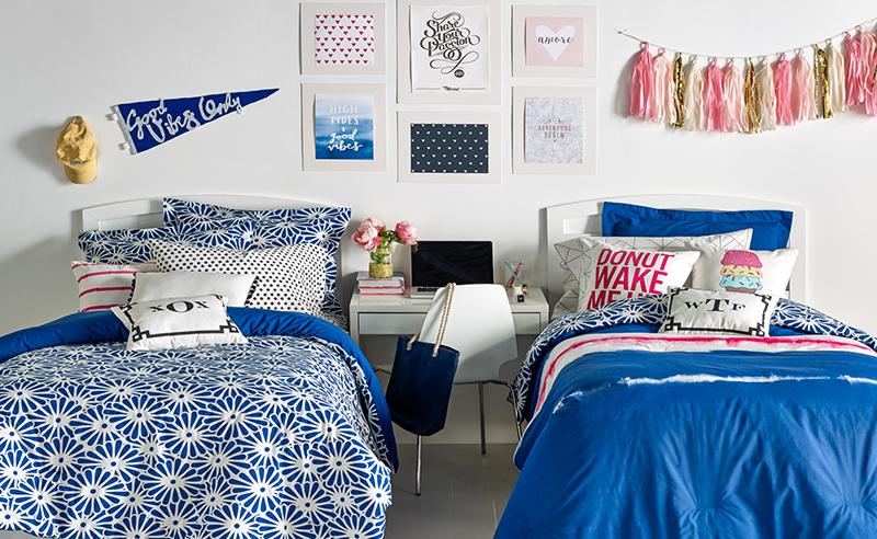 You can spend endless hours shopping for dorm decor. So, we picked the cutest preppy dorm rooms to copy with stripes, florals, and ofcourse, Lily patterns!