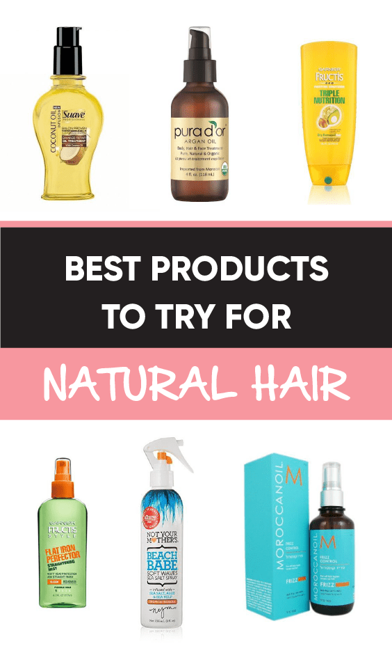 Best Products To Try For Natural Hair
