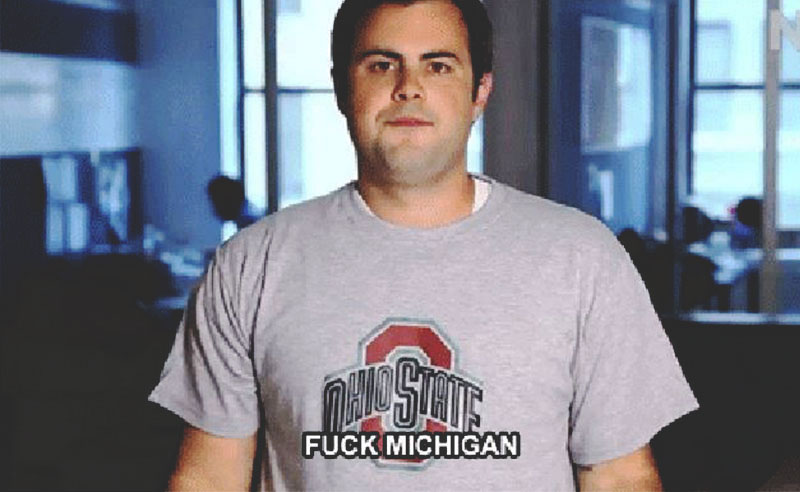 """If you're a student at Ohio State University, these GIFs will make you immediately say """"me"""" or """"same"""". Only OSU students will understand, so get ready."""