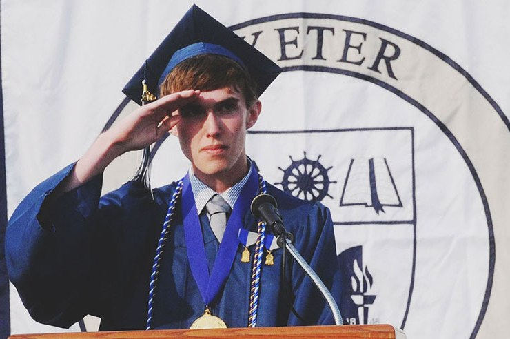 Public schools are tough, private schools may be better or worse. If you're from NH, you'll understand that it's a feat to have survived Exeter High School.