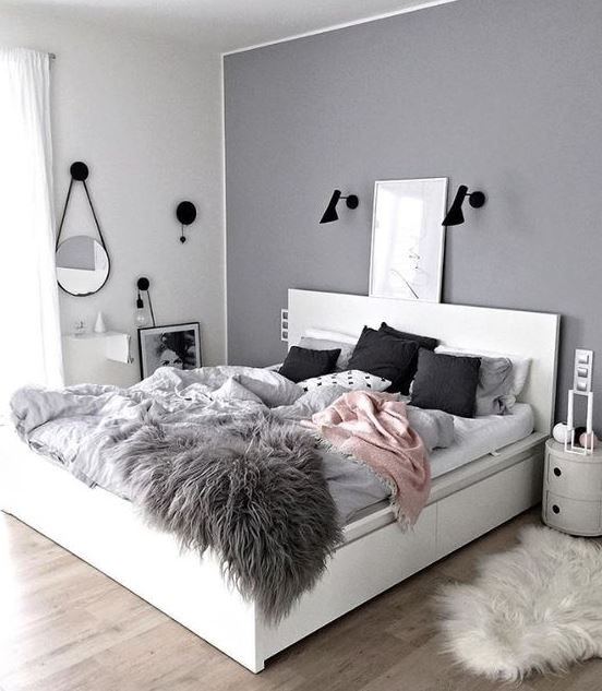 Using similar colors are great ways to make your bedroom cozy!
