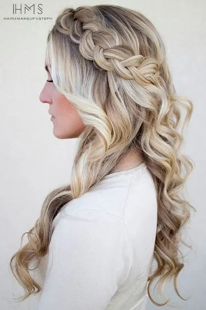 prom hairstyles. one of the most gorgeous prom hairstyles! hairstyles p