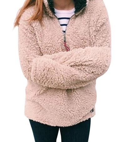 Pullovers are things to make your dorm room cozy!